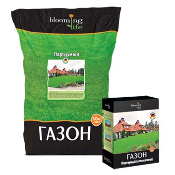 Партерный газон: состав травосмесей