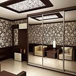 Шкафы-купе в интерьере разных комнат