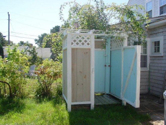 Создаем комфортную жизнь на даче - летний душ