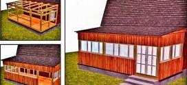 Деревянная терраса 3×6 м на даче