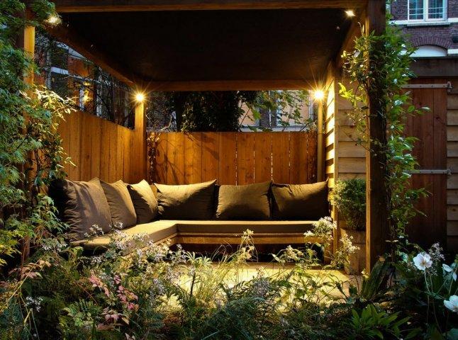 освещение мест отдыха
