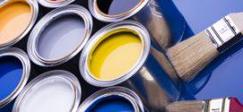 Быстросохнущие краски: виды и назначение