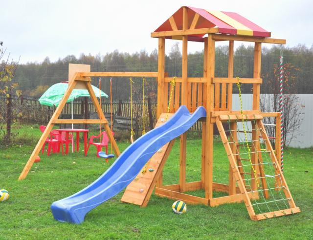 Детские площадки для дачи: выбираем качество и безопасность