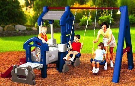 Детские площадки для дачи