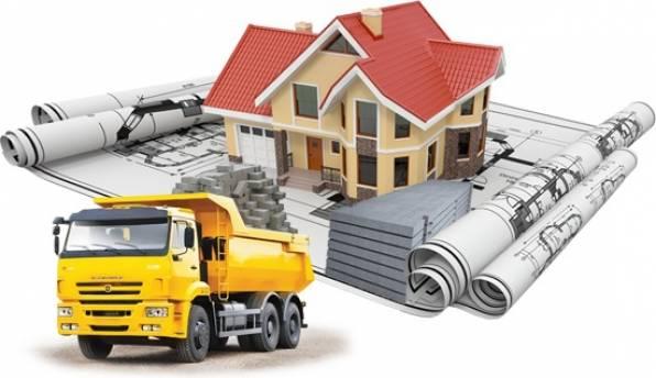 Доставка стройматериалов к месту строительства