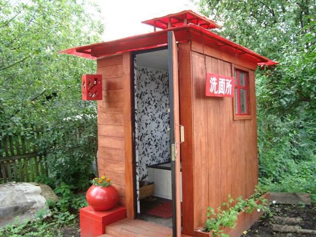 Дачный туалет с выгребной ямой своими руками