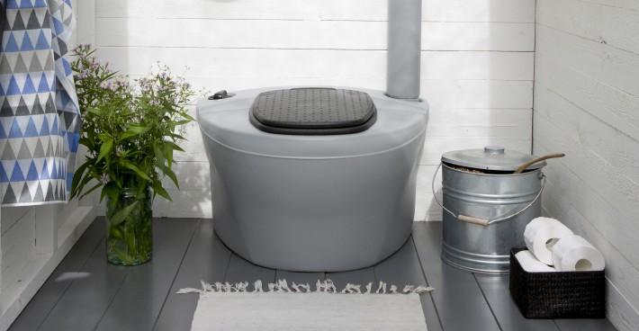 торфяной туалет на даче