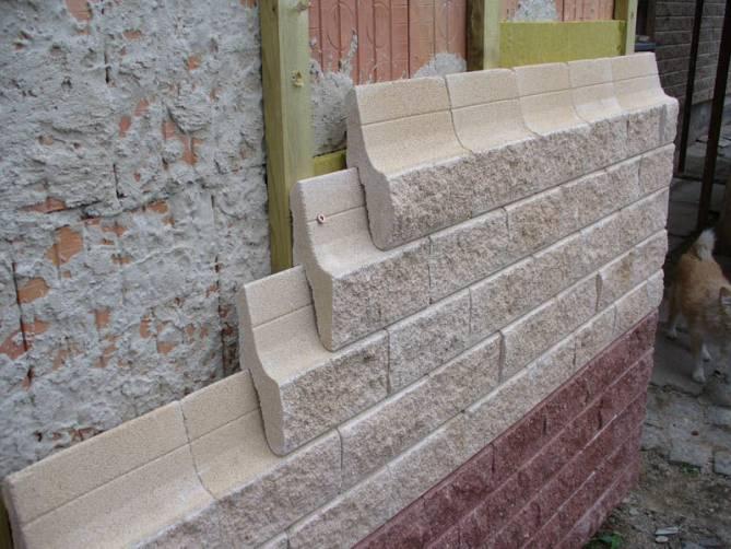 Вентилируемые фасады под камень