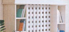 Книжная полка-экран