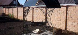 Мангал с крышей для дачи: разновидности, конструкция и стоимость