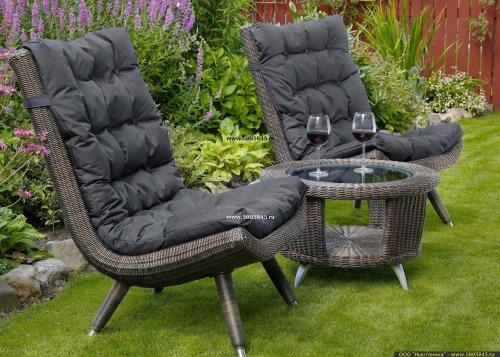 Садовая мебель из ротанга искусственного