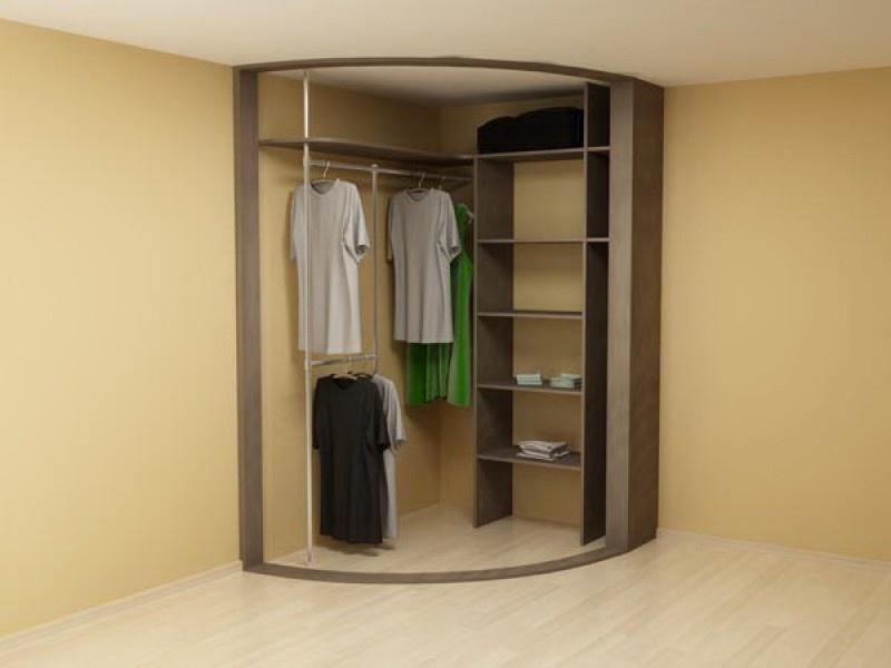Радиусные шкафы купе - важный атрибут современного дома!.
