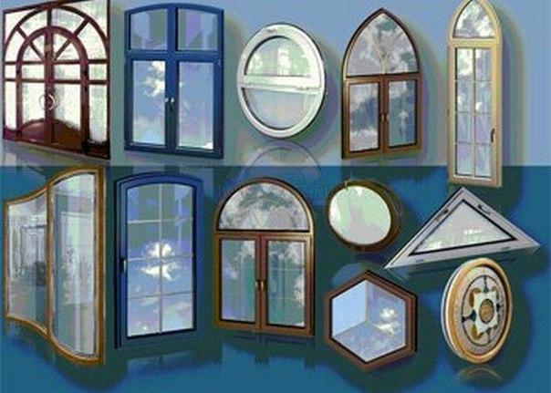 Необычные окна ПВХ
