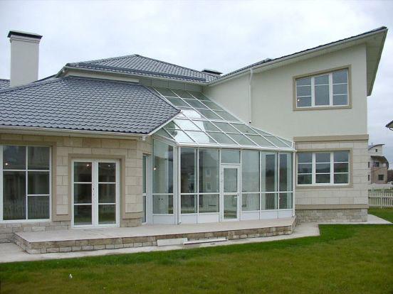 Остекление коттеджей пластиковыми окнами ПВХ
