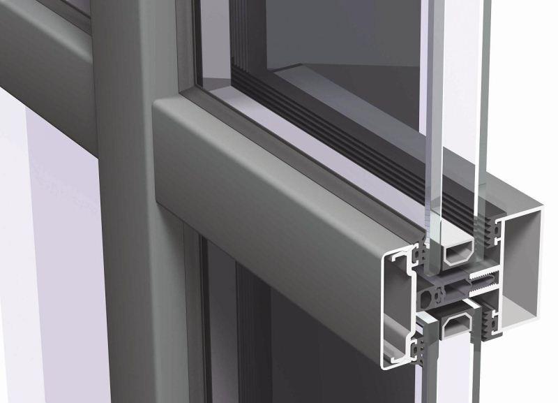 Алюминиевые витражи конструктивные особенности