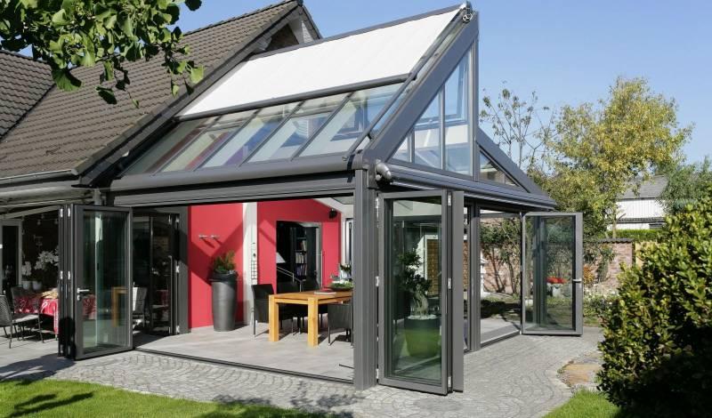 Алюминиевые витражи для дачных построек