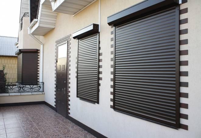 Рольставни - универсальная защита окон и дверей