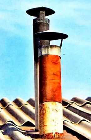 Как утеплить дымоход