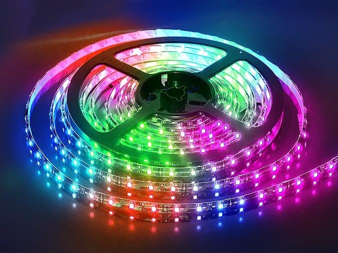 Как сделать многоцветную подсветку с помощью RGB-светодиодной ленты