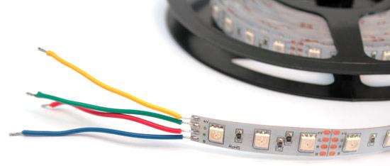 Как устроена RGB-светодиодная лента