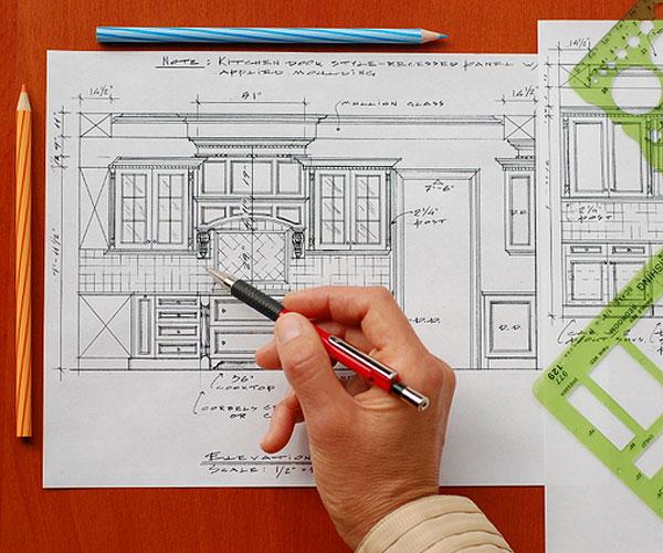Планировочное решение дизайн-проекта