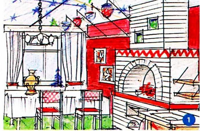 Кухня в преддверии Нового года