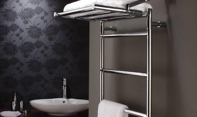 Электрический полотенцесушитель для ванной комнаты