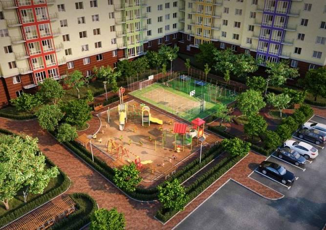 Инфраструктура и окружающая территория жилого комплекса