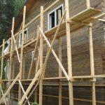 Строительные леса — описание типов и конструкций