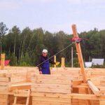 Такелаж при строительстве дома