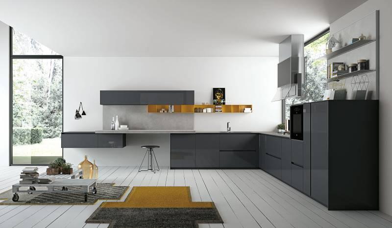 Кухонный гарнитур ASPEN фабрики Doimo