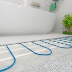 Система теплого пола для ванной