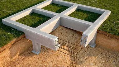 Что представляет собой мелкозаглубленный столбчатый фундамент