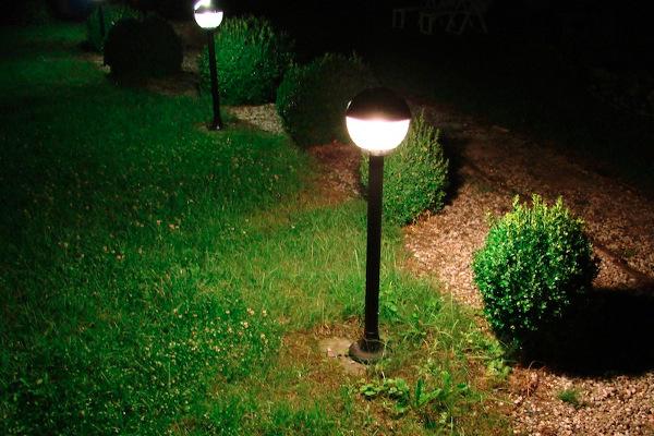 Основания для монтирования осветительных фонарей