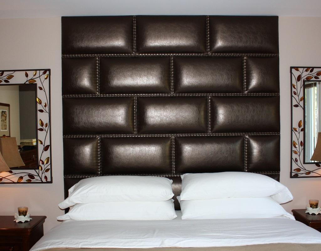 Мягкие панели для спальни своими руками