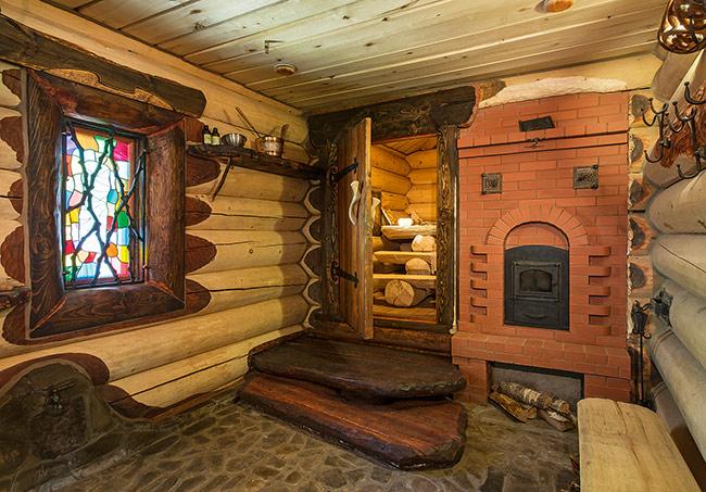 Русская баня в доме