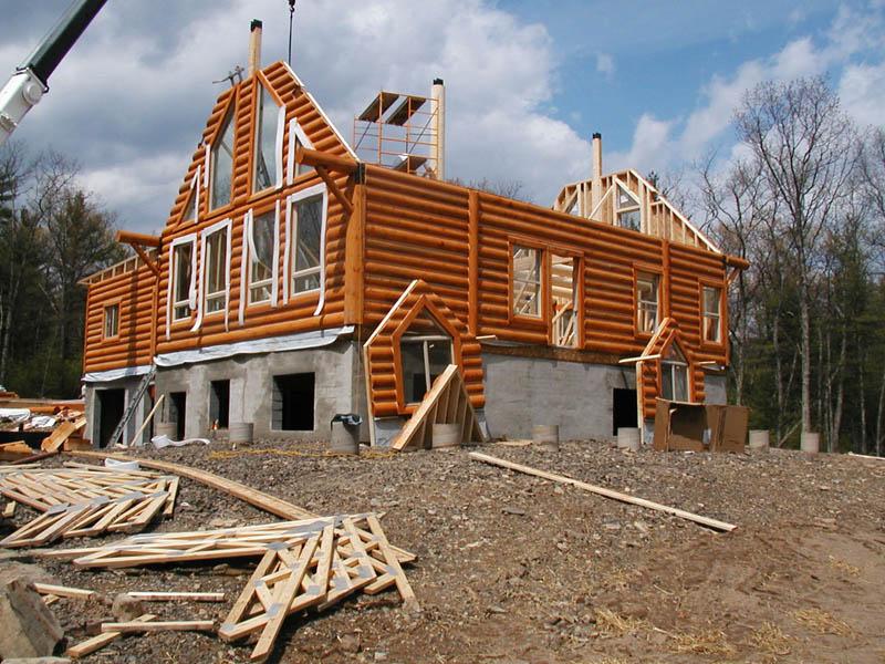 Первый этап строительства дома