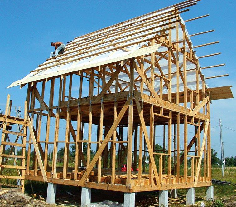 Построить каркасный дом с мансардой своими руками 17