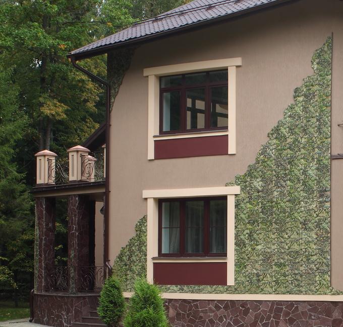 Стиль Прованс для облицовки фасада