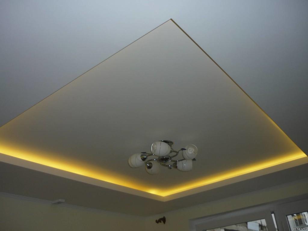 Двухуровневые потолки и как сделать