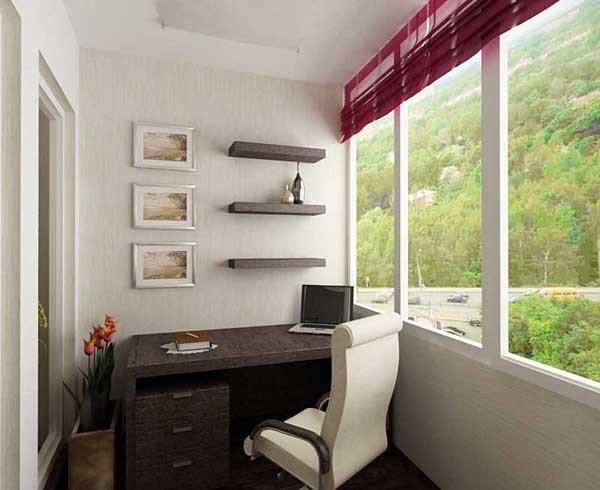Утепление балкона для кабинета