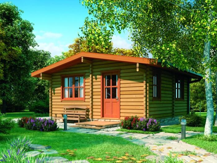 Удобство готовых летних домиков
