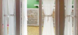 Оригинальные шторы на двери и дверные проемы