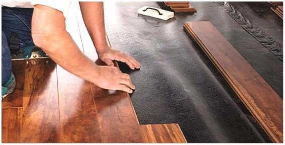 Как правильно постелить ламинат на деревянный пол