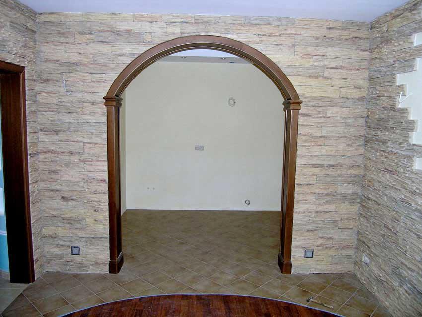 Как красиво оформить дверной проем без двери своими руками фото 67