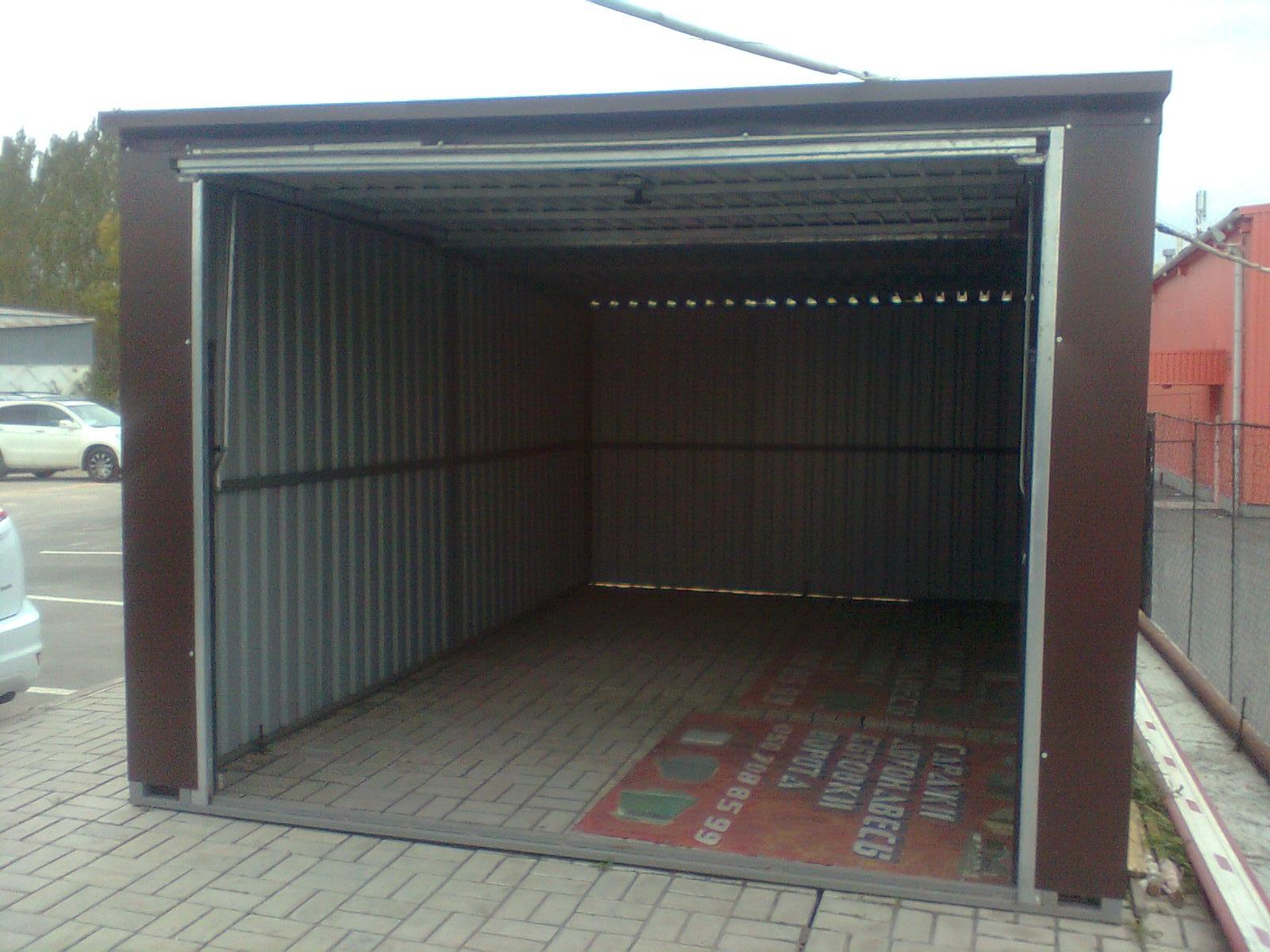 Страхование стального гаража