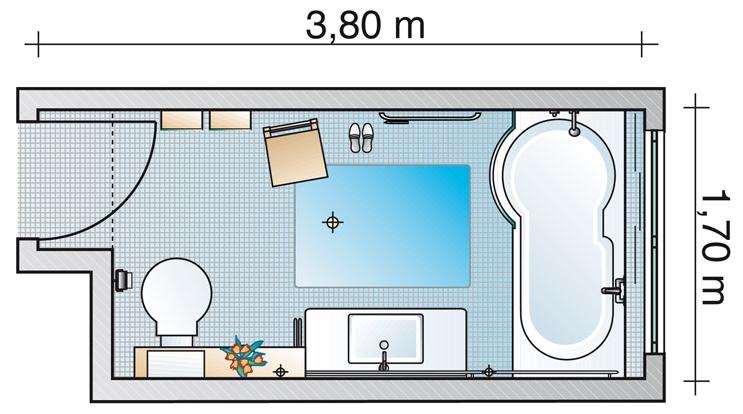 Перепланировка комнаты - санузел
