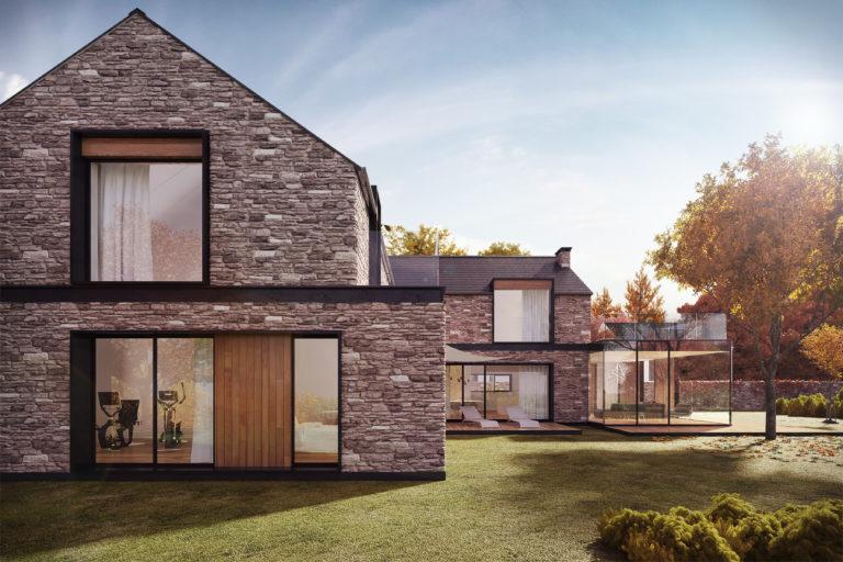 Раствор для строительства дома из камня