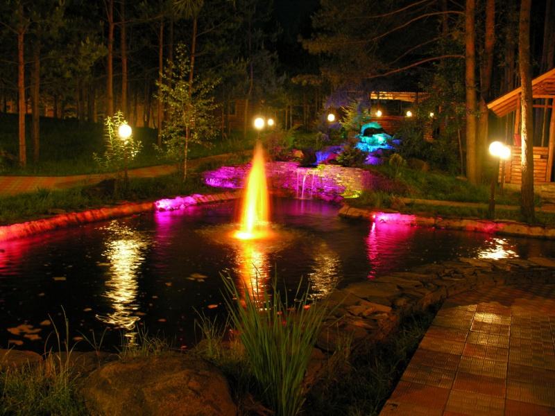 Система освещения бассейна