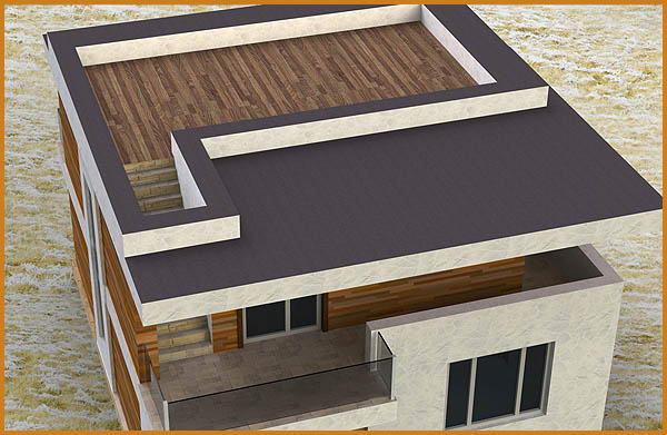 Бесчердачная плоская крыша и ее виды